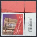 BRD 3385 postfrisch mit Eckrand rechts oben
