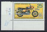 DDR 2077 postfrisch mit Eckrand links unten