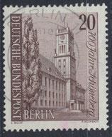 BERL 233 gestempelt