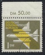 DDR 613 philat. Stempel mit Bogenrand oben (RWZ 50,00)