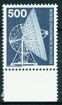 BERL 507  postfrisch mit Bogenrand unten