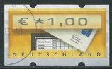 BRD-ATM 5 - 100 gestempelt