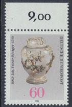 BRD 1118 postfrisch mit Bogenrand oben
