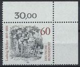 BRD 1213 postfrisch mit Eckrand rechts oben