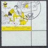 2596 gestempelt mit Eckrand rechtes unten (BRD)