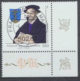 1902 gestempelt Eckrand rechts unten (BRD)