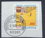 BRD 2035 gestempelt auf Briefstück
