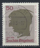 BERL 701 gestempelt