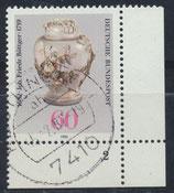 BRD 1118 gestempelt mit Eckrand rechts unten