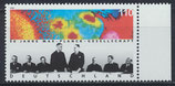 BRD 1973 postfrisch mit Bogenrand rechts