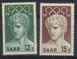 SAAR 371-372 postfrisch