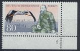BERL 722 postfrisch  mit Eckrand rechts unten
