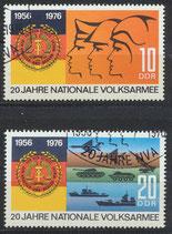 DDR 2116-2117  philat. Stempel