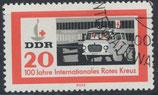 DDR 957 philat. Stempel