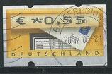 BRD-ATM 5 - 55 gestempelt