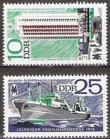 2119-2120 postfrisch (DDR)