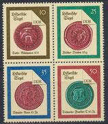 DDR 3156-3159 postfrisch Viererblock
