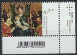 3340  postfrisch Eckrand rechts unten (BRD)
