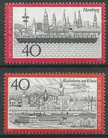 761-762  postfrisch  (BRD)
