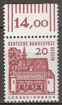 244 postfrisch mit Bogenrand oben (RWZ 14,00) (BERL)