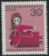324  postfrisch  (BERL)