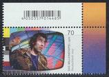 BRD 3335 postfrisch mit Eckrand rechts oben