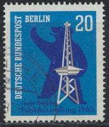 BERL  232 gestempelt