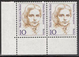BERL 806 postfrisch  waagrechtes Paar mit Eckrand links unten