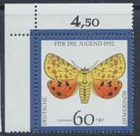 BRD 1602 postfrisch mit Eckrand links oben