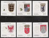 1586-1591 postfrisch (BRD)