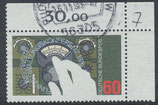 BRD 1015 gestempelt mit Eckrand rechts oben