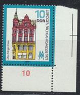 DDR 2403 postfrisch mit Eckrand rechts unten
