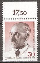 BERL 492 postfrisch mit Bogenrand oben (RWZ 17,50)