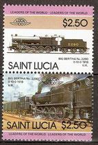 781-782 postfirsch (St. Lucia Eisenbahn)
