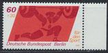 BERL 622 postfrisch mit Bogenrand rechts