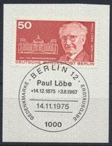 BERL 515 gestempelt mit Ersttagssonderstempel