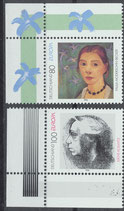 BRD 1854-1855 postfrisch mit Eckränder