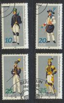 2318-2321  philat. Stempel (DDR)