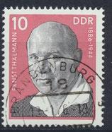 DDR 2107 philat. Stempel