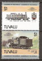 332-333 postfrisch (Tuvalu Eisenbahn)