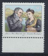 BRD 1246 postfrisch mit Bogenrand unten