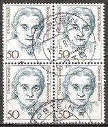 1304 gestempelt Viererblock (BRD)