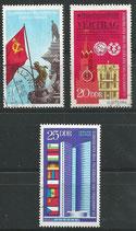 DDR 1569-1571  philat. Stempel (2)