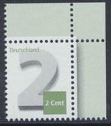 BRD 3042 postfrisch mit Eckrand rechts oben