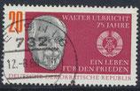 DDR 1383 gestempelt