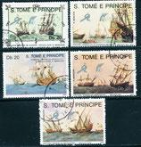 1129-1133 gestempelt (ST-Schiffe)