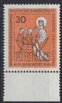 BRD 515 postfrisch mit Bogenrand unten