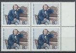 BRD 1177 postfrisch Viererblock mit Bogenrand rechts