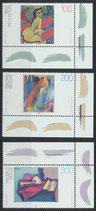 BRD 1843-1845 postfrisch mit Eckränder