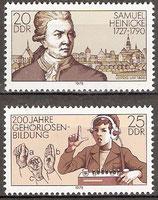2314-2315 postfrisch (DDR)